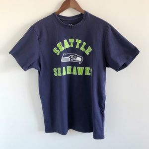 '47 NFL Seattle Seahawks 100% Cotton Graphic Tee M